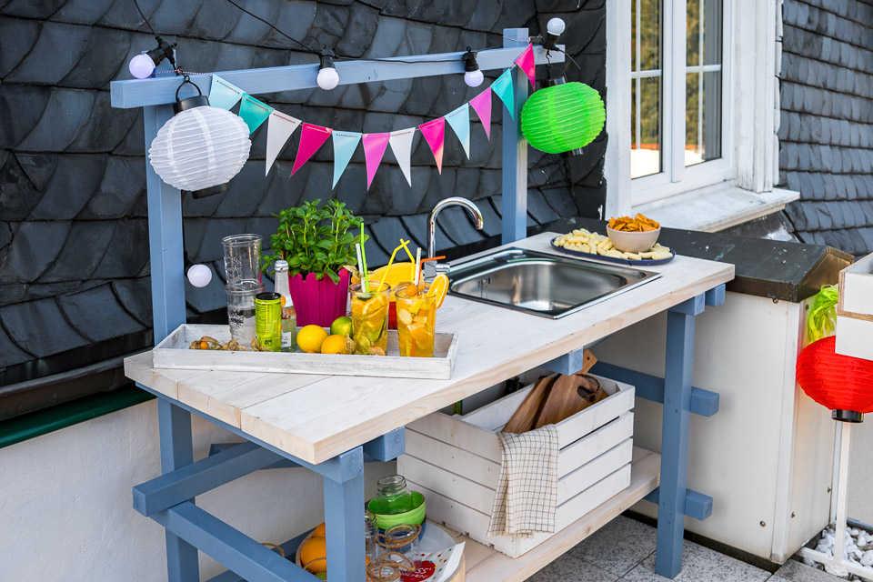 Outdoorküche Holz Xl : Outdoorküche alfons selber bauen gartenmöbel obi selbstbaumöbel