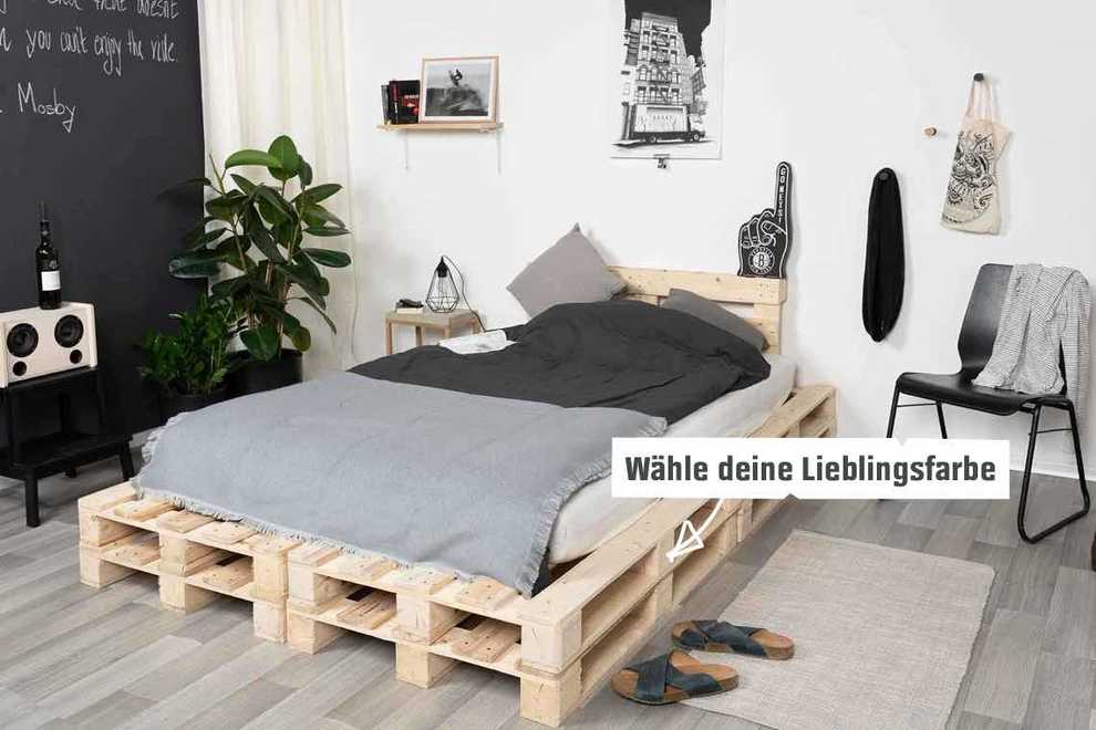 Bett Frisch Verliebt selber bauen - Betten - OBI Selbstbaumöbel