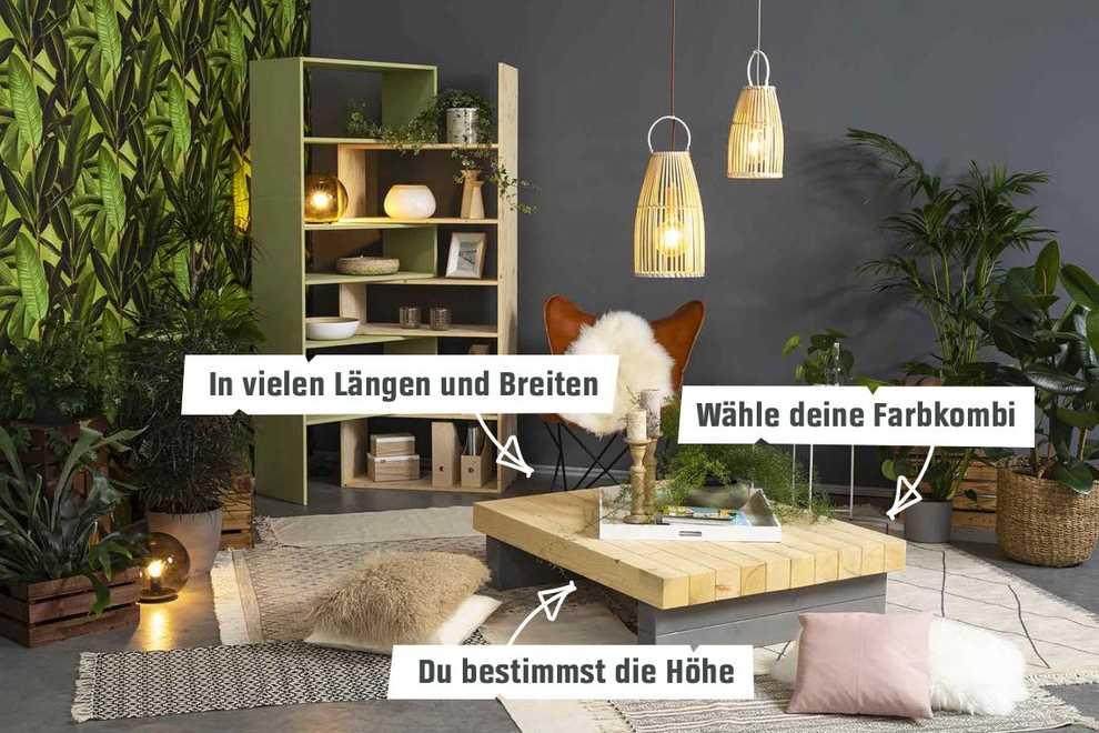 Fabulous Couchtisch Bernd selber bauen - Tische - OBI Selbstbaumöbel NN15
