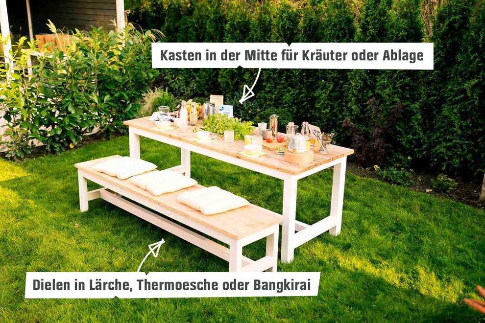 Gartentisch Richard Selber Bauen Tische Obi Selbstbaumobel