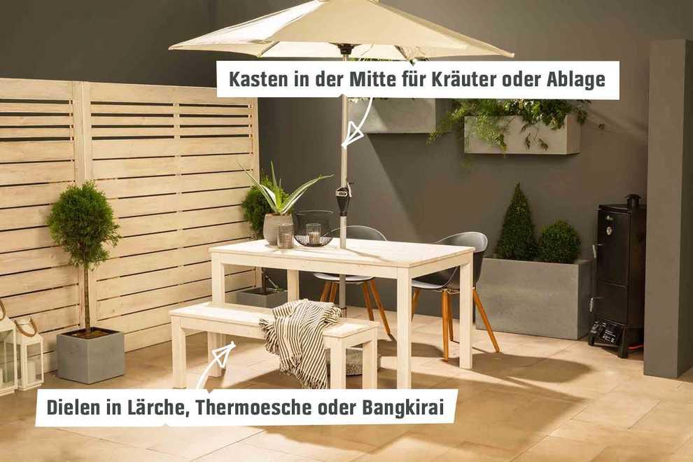 Gartentisch Sophie Selber Bauen Tische Obi Selbstbaumobel