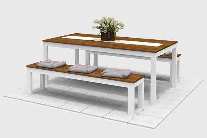 Bett ludwig selber bauen betten obi selbstbaum bel - Gartentisch bauanleitung ...