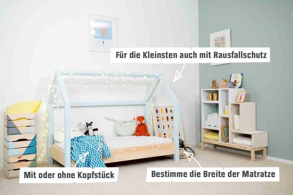 Hervorragend Kinderbett Moritz selber bauen - Kindermöbel - OBI Selbstbaumöbel ZV75