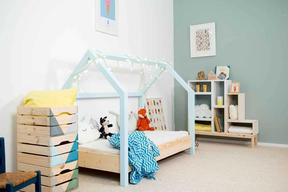 kinderbett moritz selber bauen kinderm bel obi. Black Bedroom Furniture Sets. Home Design Ideas