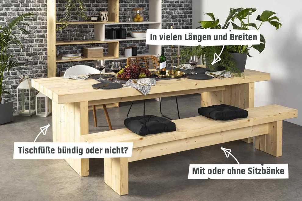 Tisch Bruno Selber Bauen Tische Obi Selbstbaumöbel