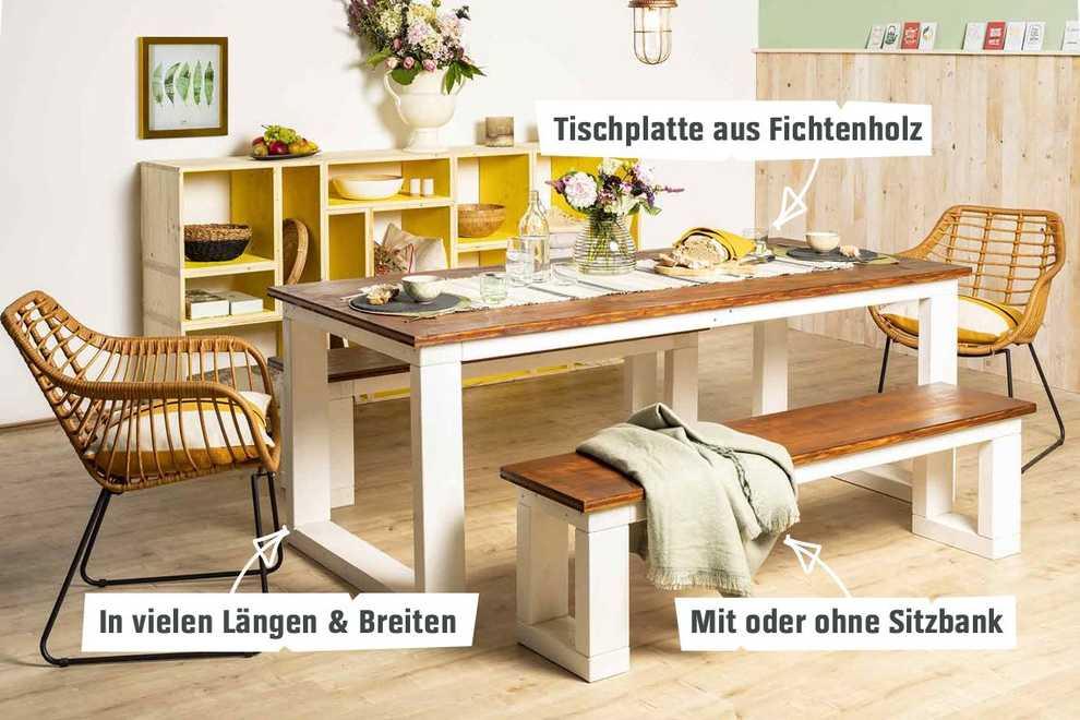 Bevorzugt Tisch Karl selber bauen - Tische - OBI Selbstbaumöbel HG99