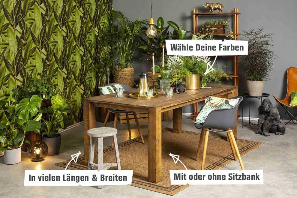 Beliebt Tisch Maren selber bauen - Tische - OBI Selbstbaumöbel TI16