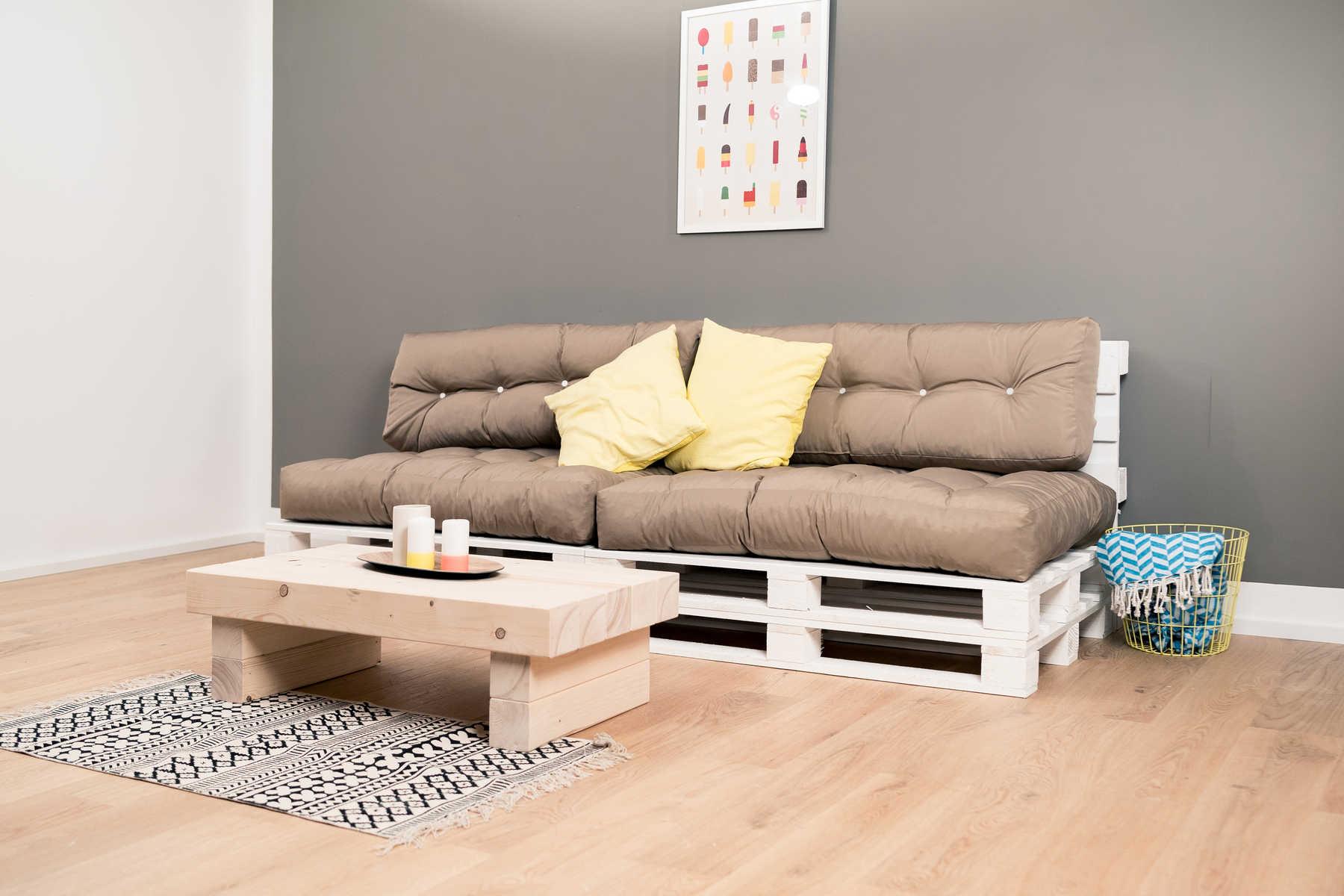 couch loungig selber bauen - palettenmöbel - obi selbstbaumöbel