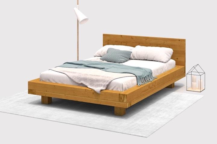Bett selber bauen ohne lattenrost  Projekt: Bett Ludwig - OBI Selbstbaumöbel