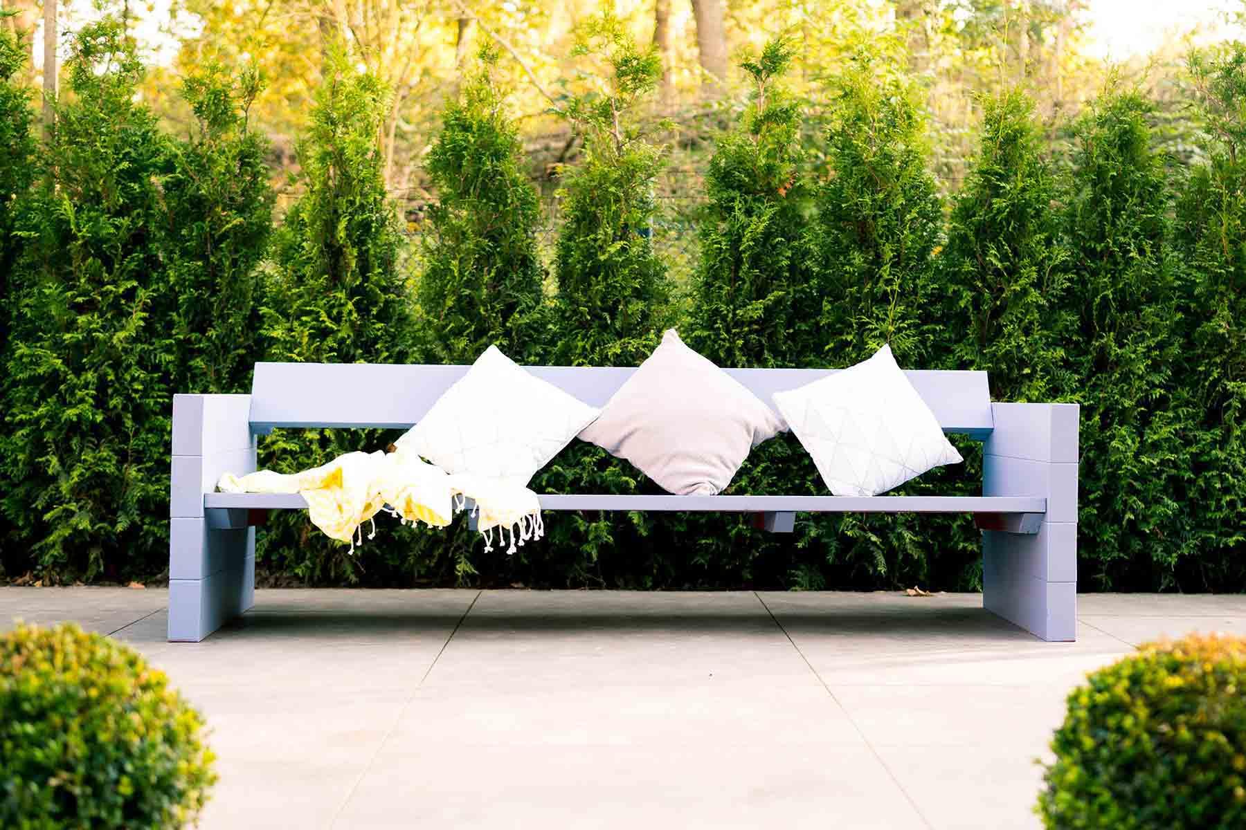Projekt: Gartenbank Jule - OBI Selbstbaumöbel