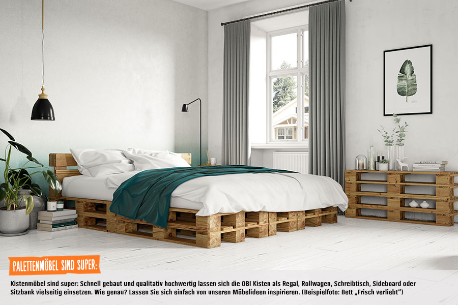 projekt bett frisch verliebt obi selbstbaum bel. Black Bedroom Furniture Sets. Home Design Ideas