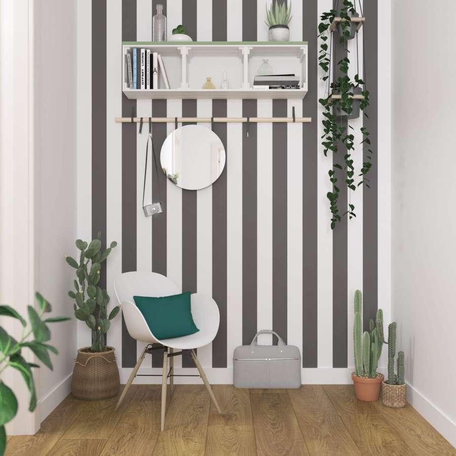 Wand Mit Streifen Streichen Bild 8 Living At Home 12